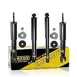 OREDY Front Rear Shock Absorbers Shocks Strut Kit 344381 37151 344386 37152 Compatible with Silverado/Sierra 1500 4WD 1999 2000 2001 2002 2003 2004 2005 2006