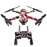 Signal Decal Kit for DJI Mavic 2/Zoom Drone - Includes 1 x Drone/Battery Skin + Controller Skin