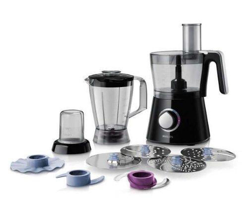 PHILIPS Robot de cocina Compact 3-en-1 Viva Collection HR7762 / 90 - negro + SurgeStrip E-Series -...