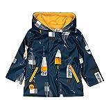 boboli Hooded Raincoat For Baby Abrigo Impermeable, Multicolor (Boyas 9916), 74 (Tamaño del Fabricante:9M) para Bebés