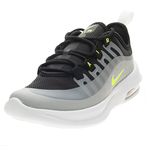 Nike Air Max Axis (PS), Scarpe Running Bambino, Multicolore (Black/Volt/Wolf Grey/Anthracite 005), 29.5 EU