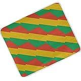 SD3DPrint Congo Brazzaville Flagge, leichte Polyester-Überwurfdecke für Bett, Couch, Sofa, Reisen, Camping, 127 x 152 cm