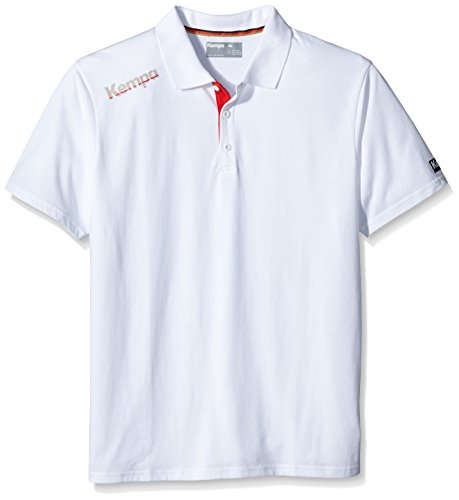 Kempa Polo Shirt Core DHB, Weiß, S