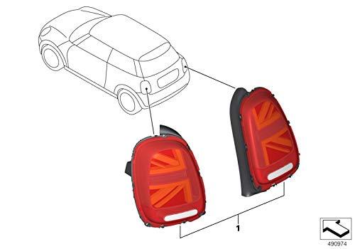 Original MINI Nachrüstsatz Heckleuchten Facelift UNION JACK für MINI F55, F56 und F57