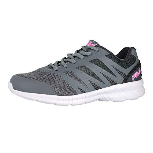 Fila Memory Speedstride 3 Plein Air/Gray/Rose Womens Athletic Shoe Size 6M