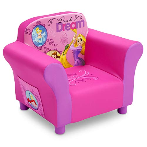 Delta Children Upholstered Chair, Disney Princess