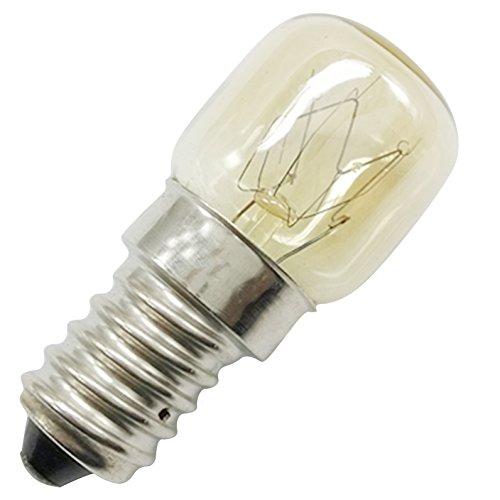 Homankit 8 Stück Glühbirne E14-15 Watt Spezial-Leuchtmittel für Salzlampe und Backofen