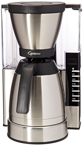 Capresso 498.05 MT900 Rapid Brew Coffee Maker, Stainless Steel