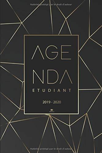 Agenda Etudiant 2019 2020: Agenda semainier 2019-2020 | Calendrier, Planificateur, Agenda Journalier Scolaire pour l'année Scolaire de Août 2019 à Août 2020