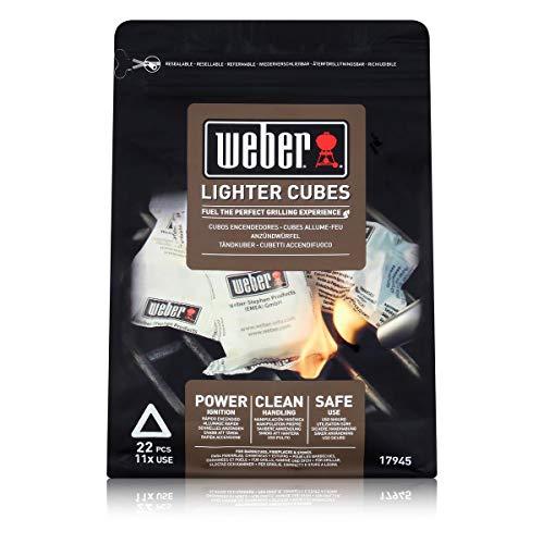 Weber Anzündwürfel, 22 Stück, weiß