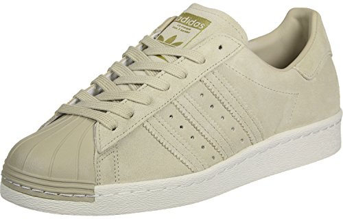 Adidas Originals SUPERSTAR 80s Sneaker, EU 45 1/3, Beige