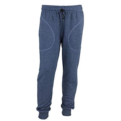 TupTam Jungen Jogginghose mit Bündchen Unifarben, Farbe: Jeans, Größe: 128