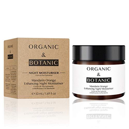 Organic & Botanic Crème de Jour Hydratante/Embellissant pour Peau Sensible/Irritée Mandarine 30 ml