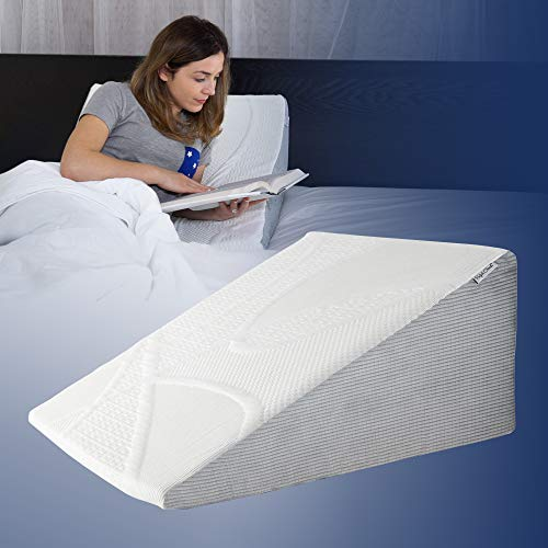 Perfect Cloud Plush 7Inch Tall Bed Wedge Pillow