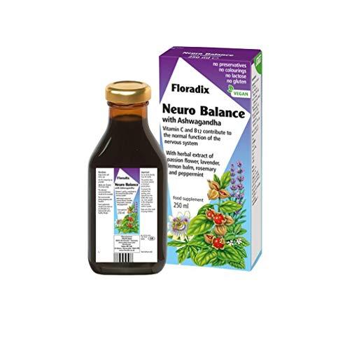 Floradix Neuro Balance with Ashwagandha, 250 ml