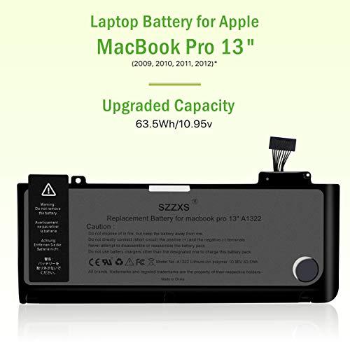 Laptop-Ersatz akku A1322 für MacBook Pro 13