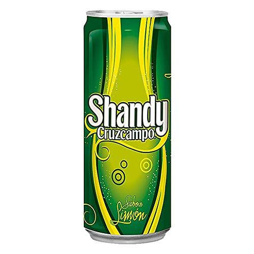Cruzcampo Shandy - helles Bier mit Zitronenlimonade - 1 x 0,33 l