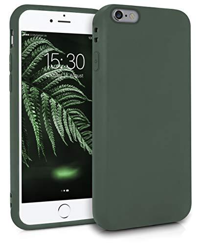 MyGadget Funda Slim para Apple iPhone 6 / 6s en Silicona TPU - Resistente Carcasa Antichoque Flexible & Ultra Protectora - Friendly Pocket Case - Verde