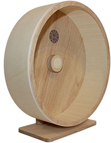 Getzoo Ø 30 cm Premium Holzlaufrad (Ø 28,8 cm Innen, Höhe 32-44cm)
