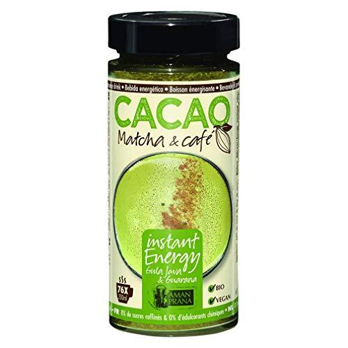 Amanprana Cacao Matcha & cafe - 230 g