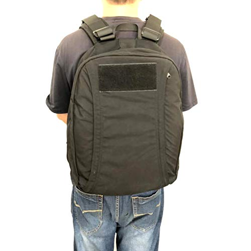 TBDLG Kugelsicherer Rucksack zum Schutz des Körpers vor Schusswunden und explosiven Ablagerungen, geeignet für Leibwächter, Wachen, Schutz
