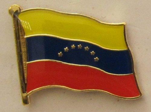 Venezuela Pin Anstecker Flagge Fahne Nationalflagge Flaggenpin Badge Button Flaggen Clip Anstecknadel
