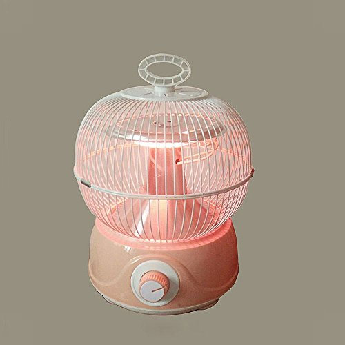 NQ Calentador Eléctrico de Calefacción de la Jaula de Pájaros,Rosado