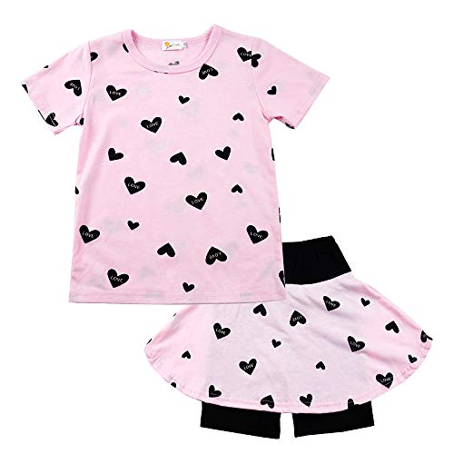 Girls Toddler Cute Outfits Cloth...
