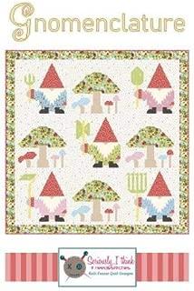 """Kelli Fannin Quilt Pattern - Gnomenclature (86"""" x 86"""")"""