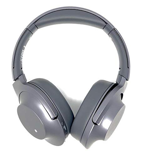 Sony WHH900N Hear On 2 Wireless Overear Noise Cancelling High Resolution Headphones, 2.4 Ounce-Dark Gray