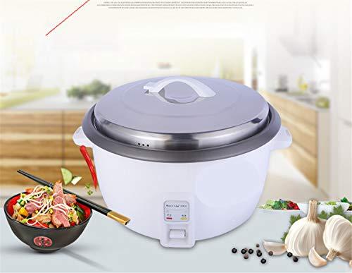 rijstkoker voor maximaal 20 personen, 10 l inhoud, voor warme keuken, met spatel, hoogwaardige binnenpotentiometer.
