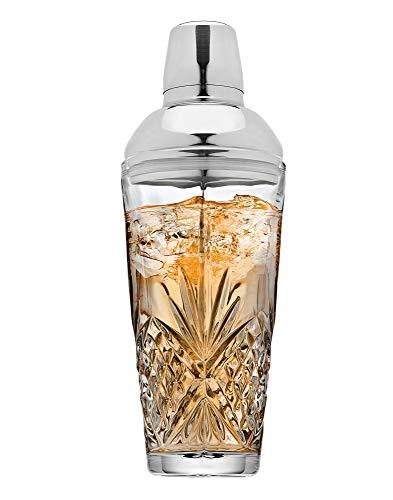 Godinger Dublin Cocktail Shaker, Martini Shaker, 17oz