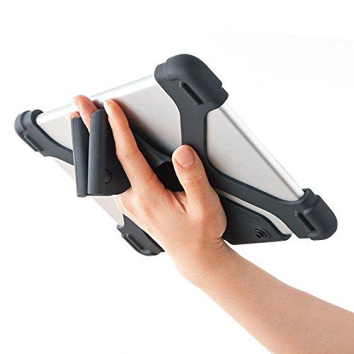 サンワサプライ耐衝撃シリコンケース(8.9~11.6インチ)PDA-TABH4BK