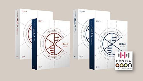CIX - Hello Chapter Ø. Hello, Strange Dream [Random ver.] (4th Ep) [Pre Order] CD+Photobook+Folded Poster+Others with Tracking, Extra Decorative Stickers, Photocards
