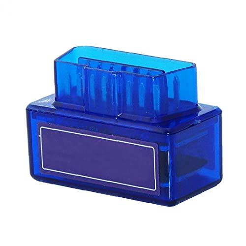 Runfon Adaptador para Auto OBD2 Bluetooth de código de diagnóstico del Coche escáner Lector del Coche de la Herramienta del Coche Azul de Suministro