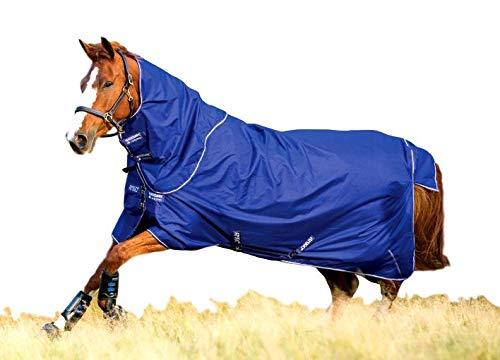 Horseware Amigo Hero 900 Plus Lite 0g - Atlantic Blue/Ivory