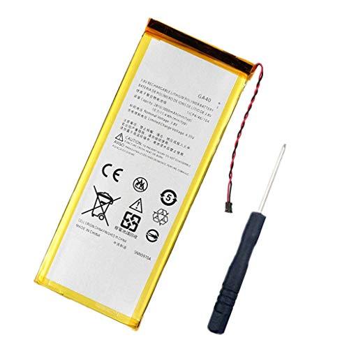 Bestome Ersatz Akku Kompatibel mit Motorola Moto G4 XT1622 Motorola Moto G4 Plus TD-LTE XT1643 XT1642 XT1644 XT1641 XT1640 GA40 SNN5966A mit kostenlosem Werkzeug