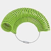 MAODING リングサイズマンドレルスティックフィンガーゲージリングサイザー測定ジュエリーツール (Color : Green)