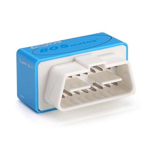 Eco OBD2 Diesel Chip Tuning Box, OBD ii Diagnosegerät, 35% mehr PS – 25% größeres Drehmoment, Fuel Saving Diagnostic Werkzeuge. (Blau)