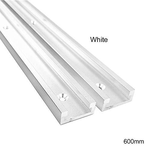 vitihipsy Aluminiumlegierung T-Schiene Schlitz Gehrungsschiene Vorrichtung Sägetisch Rutsche für Frästisch Bandsägen Holzbearbeitung DIY Werkzeuge Typ-30
