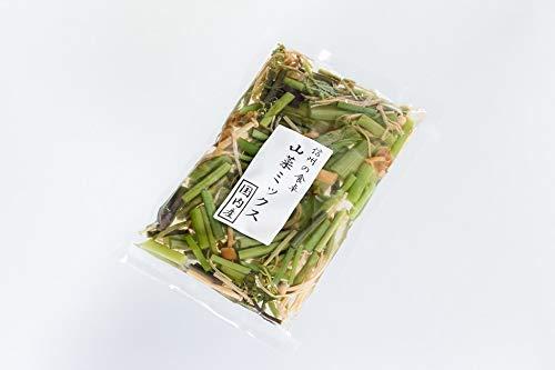 (3袋セット)(S)山菜ミックス180g×3袋セット(代引・他の商品と混載不可)(北海道・沖縄・離島への発送は不可)