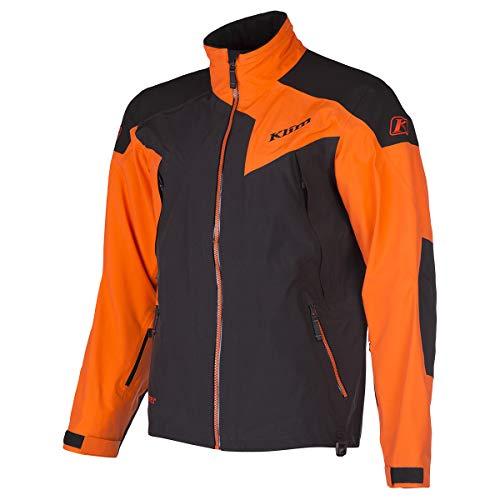 Klim Stealth Men's Ski Snowmobile Jacket - Orange/Large