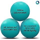 MindPanda 3X motivierende Stressbälle von Der perfekte Anti-Stressball für Erwachsende und Kinder...