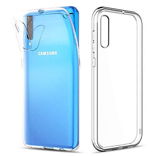 """Amonke Funda para Samsung Galaxy A70, Silicona Transparente TPU Protectora Carcasa Antigolpes, Anti Caídas Ultrarock Ultrafina Suave Case Cover Compatible con Samsung Galaxy A70 (6.7"""")"""