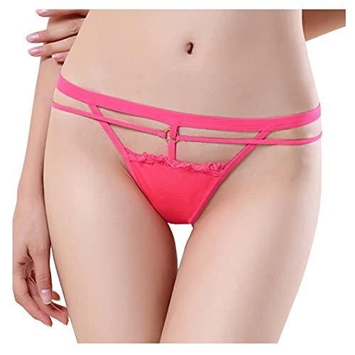 Seamless Underwear for Women Sexy Cotton Pure Stretch Bikini Panties Low Rise Hipster Ladies Soft Cheeky Underwear Orange