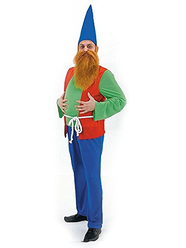 Costume Déguisement Nain de Jardin Taille Adulte