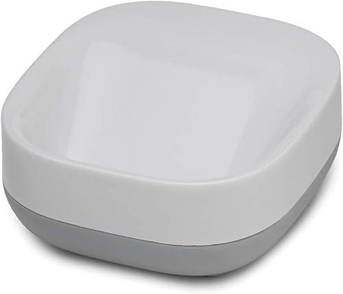 Joseph Joseph Slim Compact Soap Dish, Grey/White product image