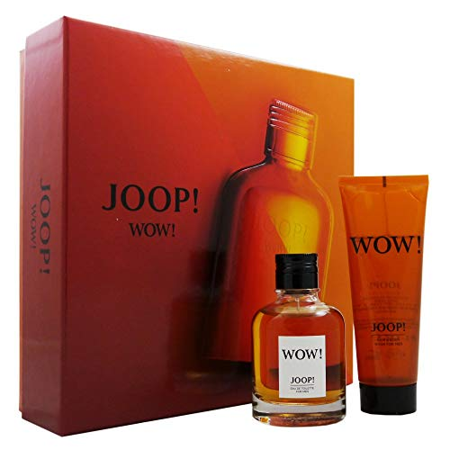 Joop Wow homme/man Set (Eau de Toilette (60 ml), Duschgel (75 ml))