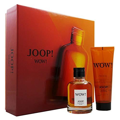 Joop Wow Homme/man Set (Eau de Toilette (60 ml), douchegel (75 ml))