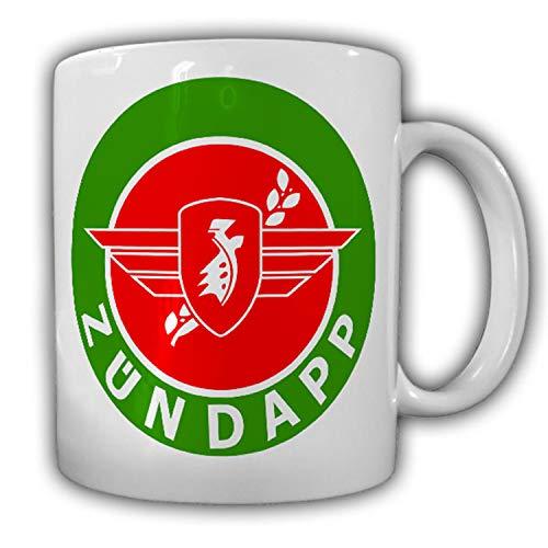 Zündapp Abzeichen altes Firmen Logo Wappen Abzeichen Motorrad GmbH Tasse #17024
